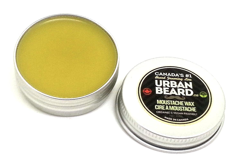 Urban Beard Organic Moustache Wax - Vegan - Carnauba Wax - Canada's # 1 Grooming Line