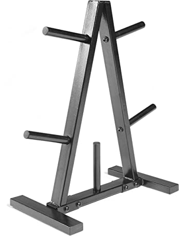 CAP Barbell Plate Rack, 1-Inch, Black