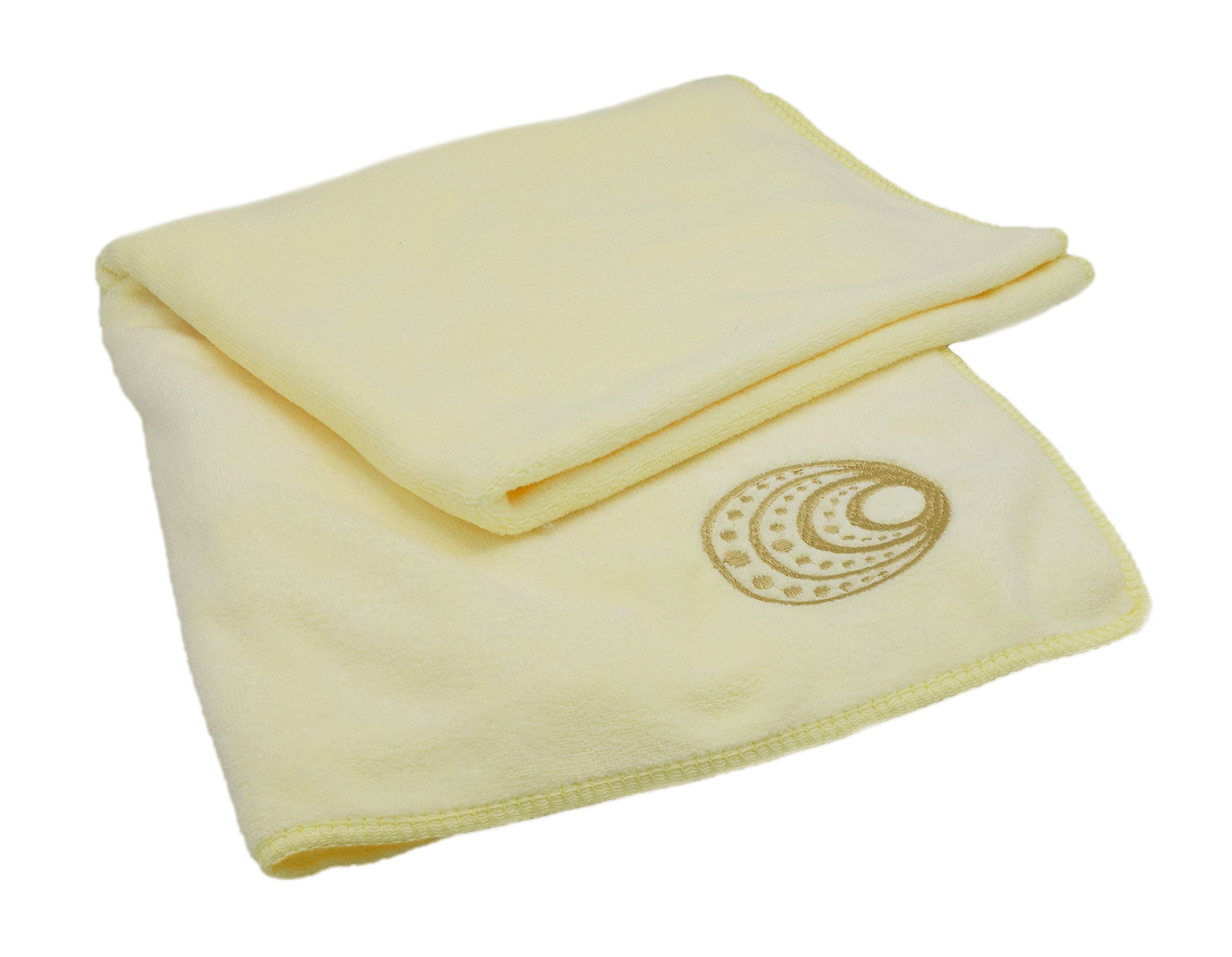 NU Comfort Microfiber Anti Frizz Hair Towel- Super Absorbent, Lightweight, and Extra Soft! (Large)