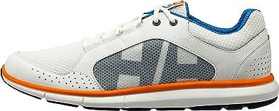 99e0b089f1b Helly Hansen Men's Ahiga V3 Hydropower Boat Shoes ,White (Off White/ Racer  Blue