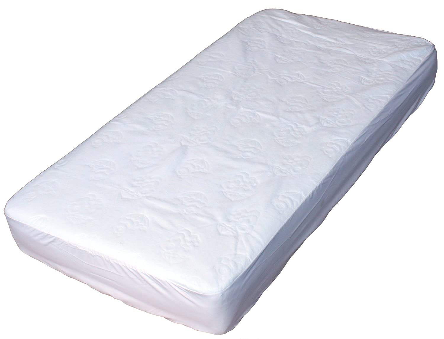 Crib Mattress Pad View Larger Waterproof Quilted Mini