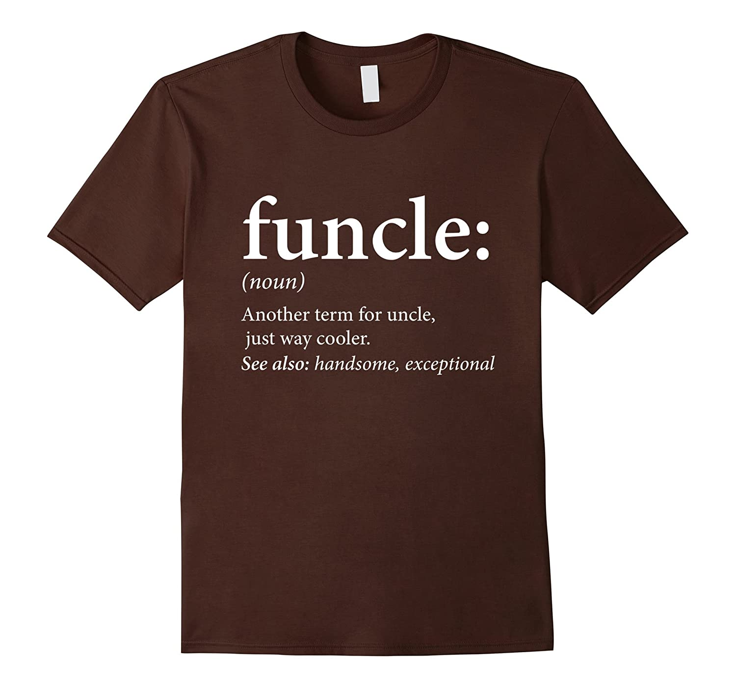 Mens Funcle Shirt - Cool & Funny Uncle T-Shirt-alottee gift