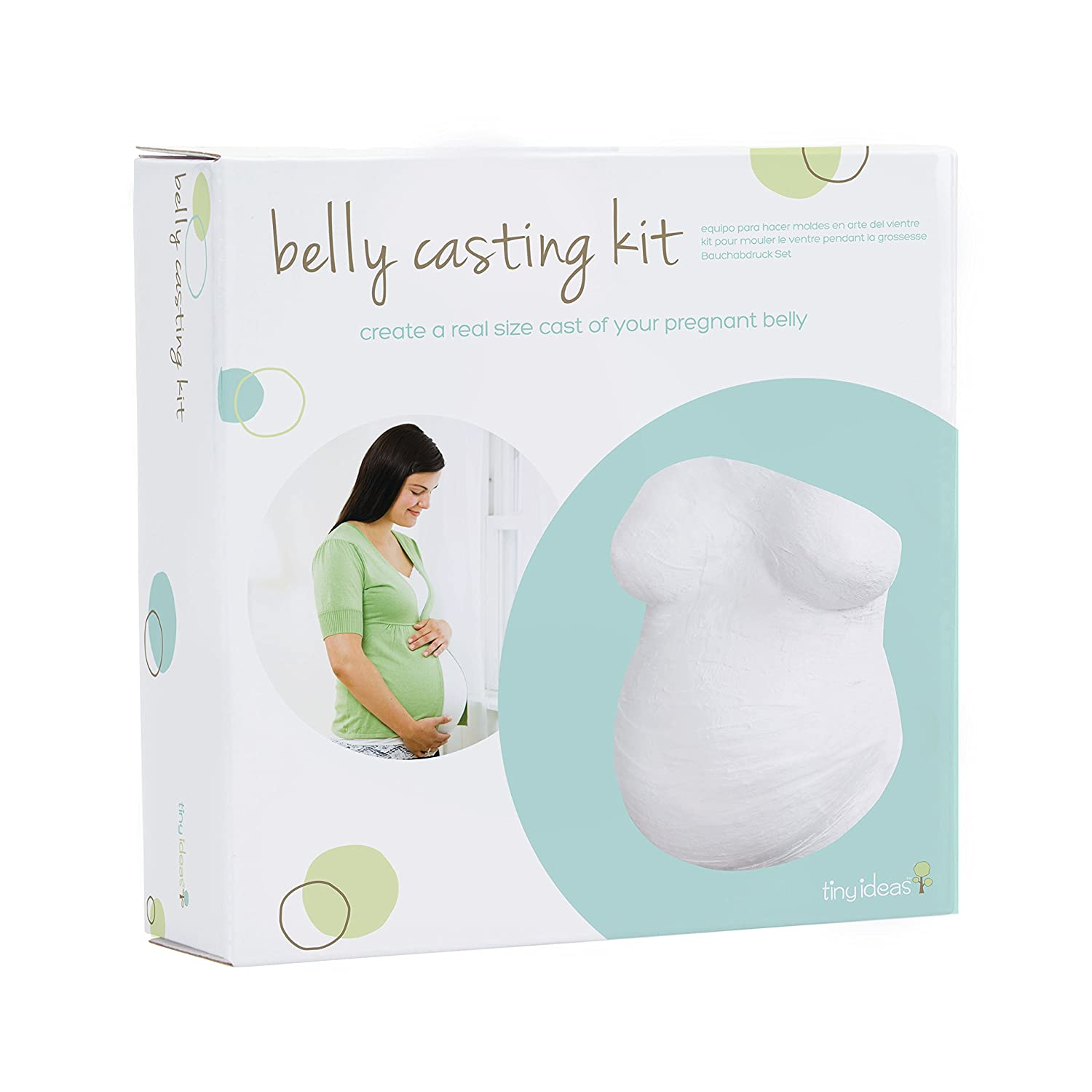 Tiny ideas 96140 Belly Casting Kit - Gipsabdruck Set Babybauch