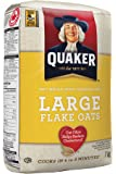 Standard Quaker Oats Large Flake Oats, 12-count