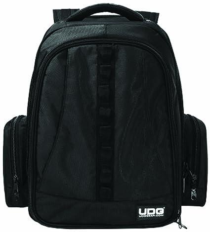 UDG U9102BL/OR BackPack - Mochila para dj, color negro y naranja