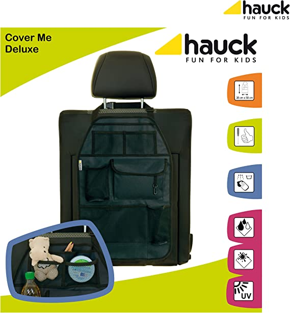 Large Hauck Cover Me Car Backrest Deluxe Front Seat Organiser
