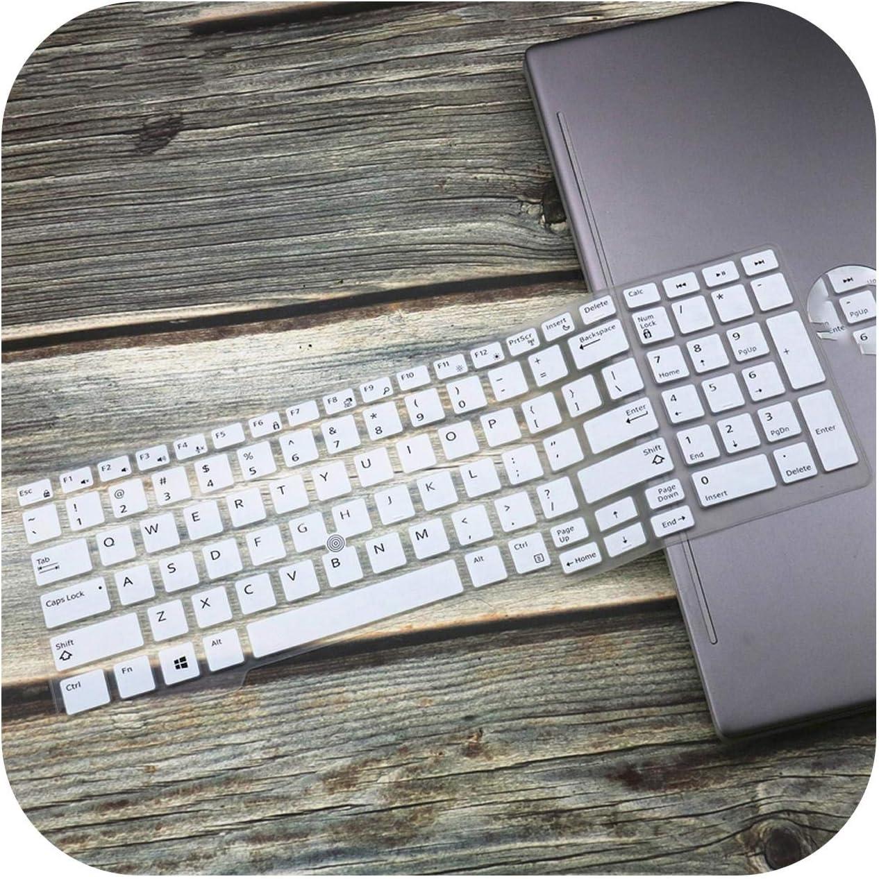 15.6 Inch Silicone Laptop Keyboard Cover Skin for Dell Latitude 5591 5580 E5550 M7510 E5570 M7720 M7520 M5520 M7710 E5580-Blue