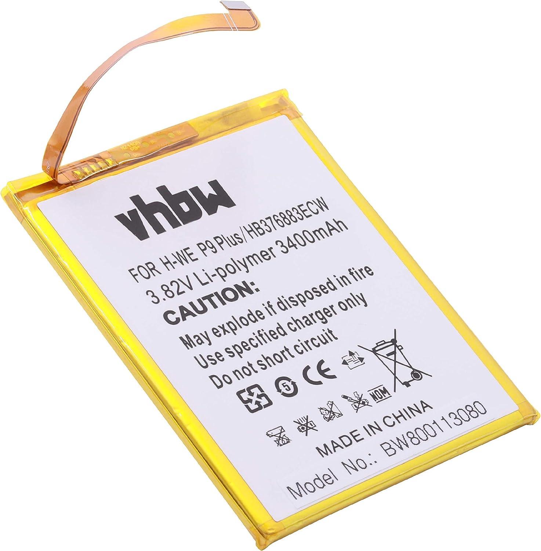 vhbw Batería Li-Ion 3400mAh (3.82V) para móvil Smartphone teléfono ...