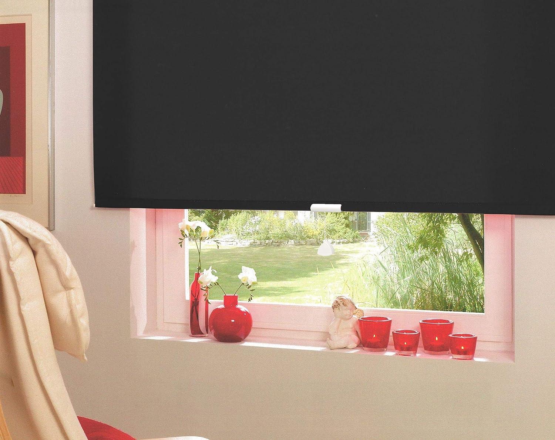 Springrollo Mittelzugrollo Schnapprollo Fenster Rollo Vorhang 16 16 16 Farben Breite 62-242 cm Höhe 160 und 230 cm blickdicht lichtdurchlässig Sonnenschutz Sichtschutz Blendschutz (182 x 160 cm Mocca) B079R8G4JN Seitenzug- & Springrollos 054de1
