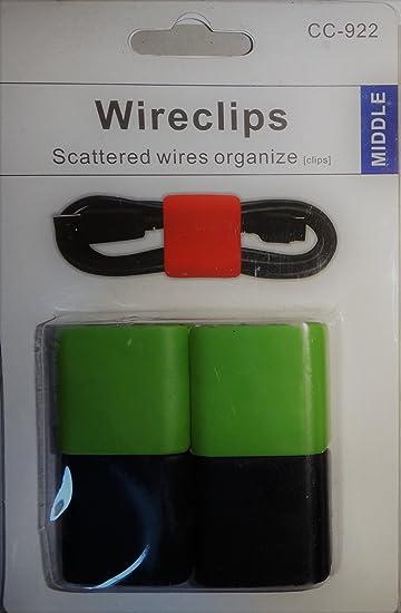 Draht Clips, Kabelhalter, Draht Manager. Organisieren Sie Ihre Kabel ...