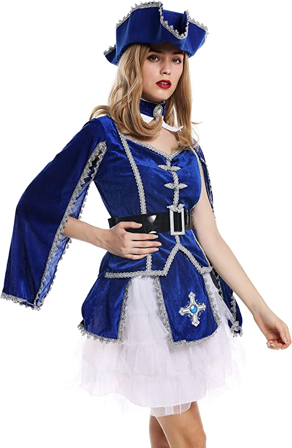 dressmeup - W-0284 Disfraz Mujer Feminino Halloween Carnval ...