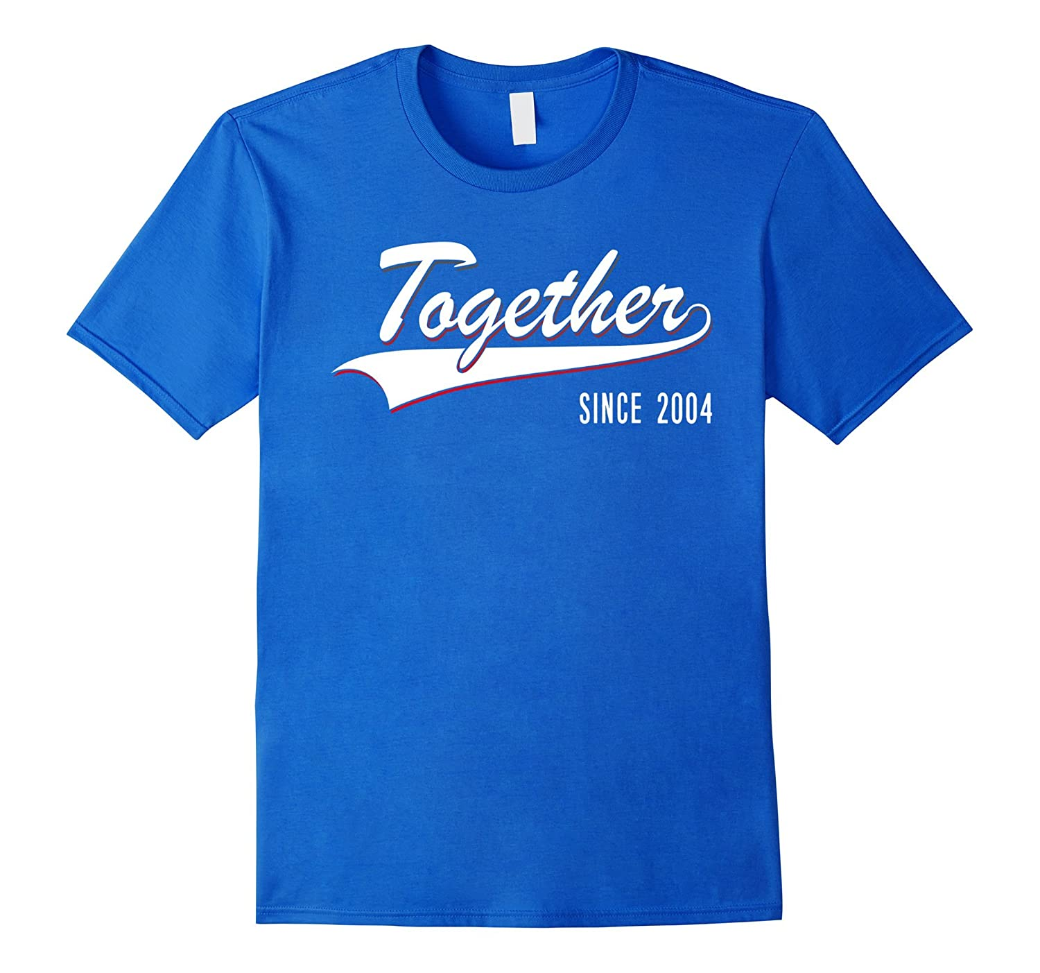 13th Anniversary gifts Together since 2004 Tshirt