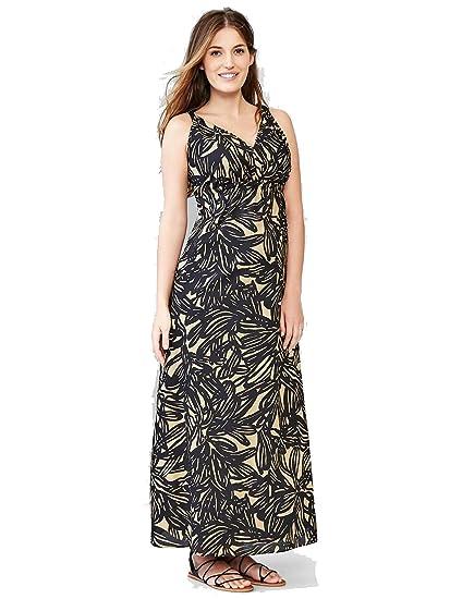 f45a5e93837 GAP Print Maxi Maternity Dress Color Neutral Banana Print at Amazon ...