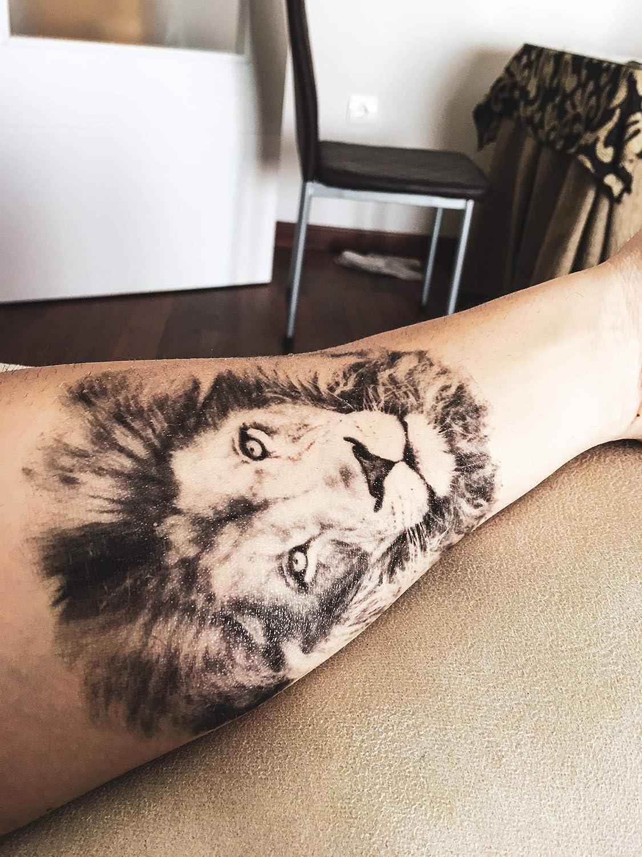 El Rey Leon, tatuaje temporal: Amazon.es: Belleza