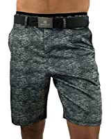 Men's Boardshorts or Swim Trunks, Perfect to be worn as Men's Athletics Shorts, Men's Golf Shorts or Men's Swim Shorts (Granite)