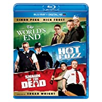 The World's End / Hot Fuzz / Shaun of the Dead Trilogy Blu-ray Deals