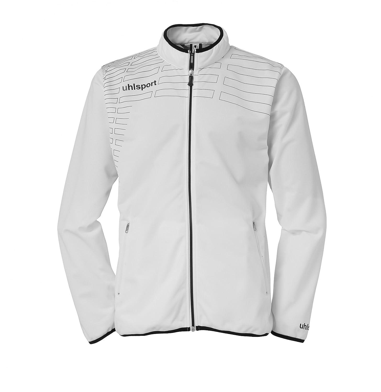 TALLA 2XL. Uhlsport 100513301 - Sudadera con cremallera para mujer, color Blanco (White/Black), talla XX-Large
