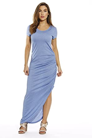 Image result for Just Love Short Sleeve Dress With Ruched Side Summer Dresses