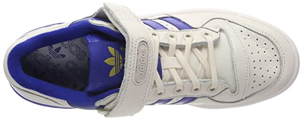 Originals Forum Low Baskets Homme, Blanc (Blatiz/Buruni/Gum1 000), 48 EUadidas