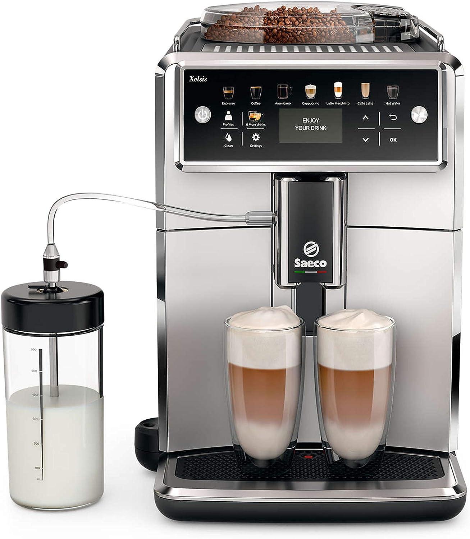 Saeco Xelsis SM7581/00 - Cafetera (Independiente, Máquina espresso ...