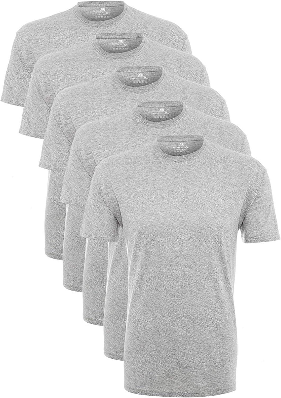Lower East Camiseta Manga Corta Hombre, Pack de 5