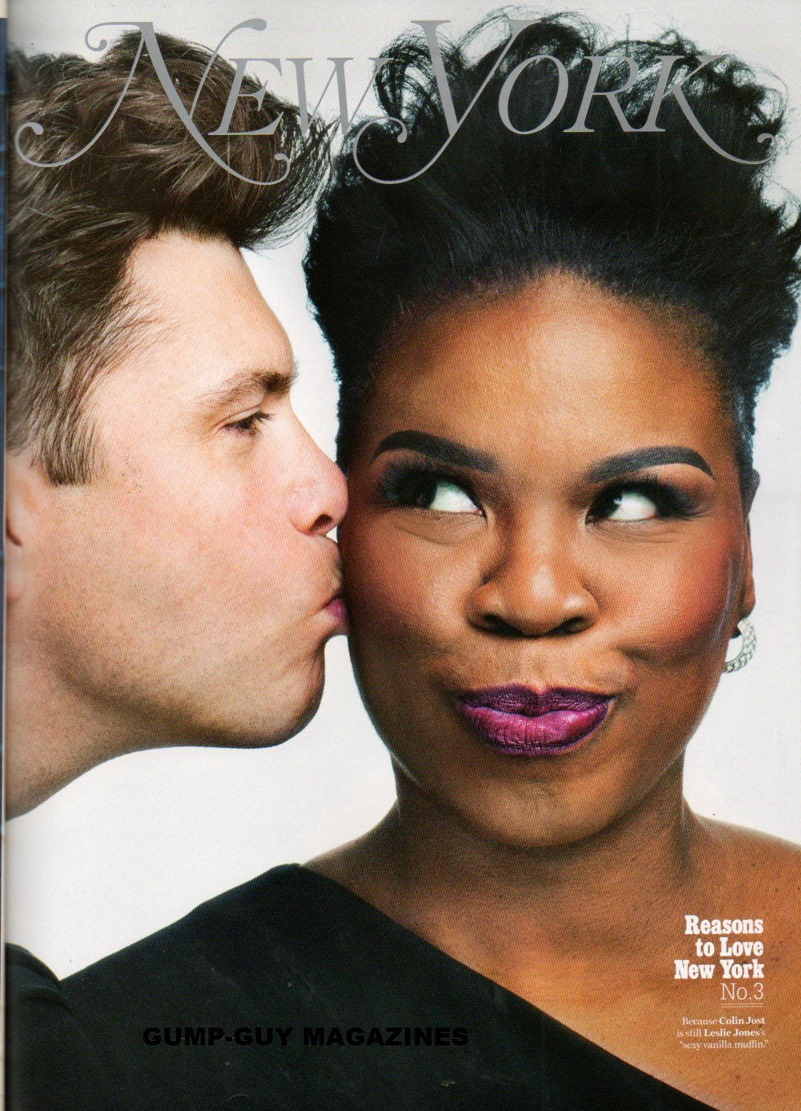 Colin Jost Is Still Leslie Jones Sexy Vanilla Muffin In New York Magazine 2017 David Hallberg Will Be Romeo To Isabella Boylston S Juliet Nyu Student Favors Monochrome Wendy Goodman Adam Moss Amazon Com Books