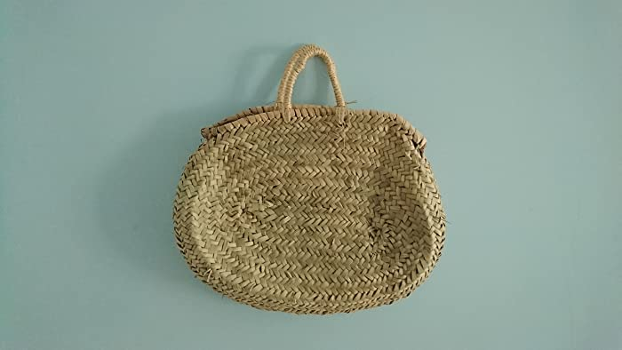 Capazo palma red asa pita. Handmade, artesanía