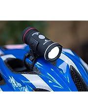 Topside. Bright 100 Lumen Bike Helmet Light. Rechargeable Dual Front & Rear Bike Light. 43 Hour Battery