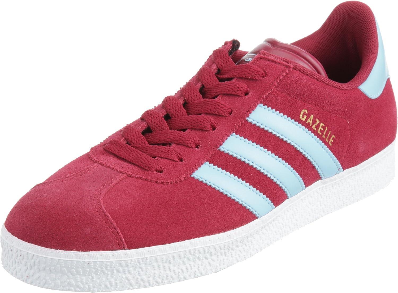 etiqueta Mancha Sacrificio  adidas Gazelle 2 g13258, Baskets Mode Homme Red Size: 11 UK: Amazon.co.uk:  Shoes & Bags