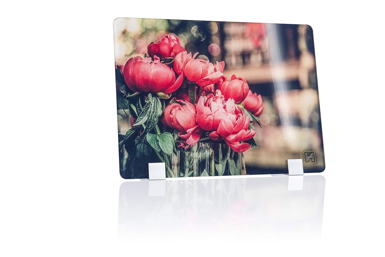 Rote Pfingstrosen Antretter /& Huber GmbH ⭐⭐⭐⭐⭐ Design DVBT2 HD Antenne 100km Reichweite Craft Made in Bavaria
