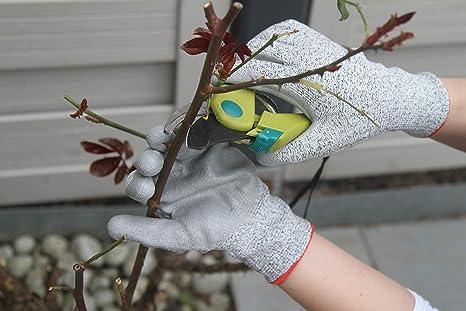 schnittsichere Handschuhe f/ür Erwachsene und Kinder mit Level 5 Schnittschutz 2 Paar Ecotal Premium Schnittschutzhandschuhe XS bis XL