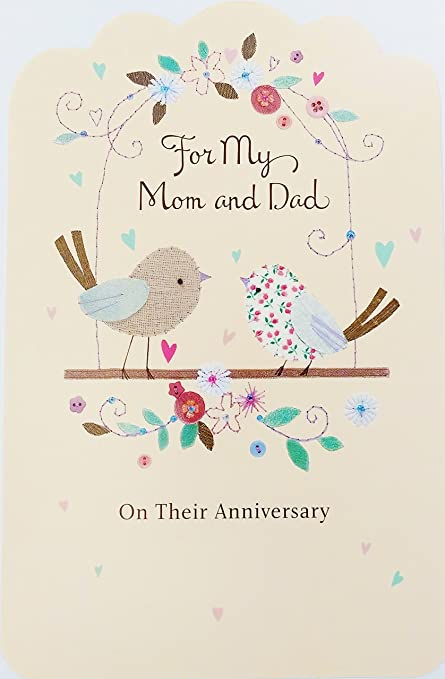 Amazoncom For My Mom And Dad Wishing You A Happy Anniversary