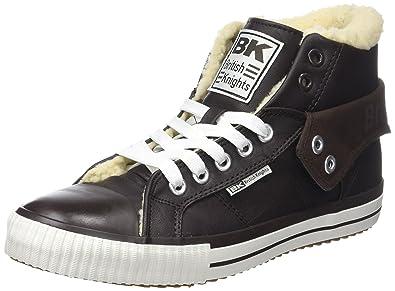 British Knights Herren ROCO Hohe Sneaker  Schwarz