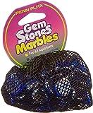 Pen-Plax AG8 90 Bag Gemstones Pearls Decorative Aquarium Stones, Blue