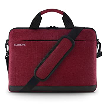 bba96aa21678 SKL Laptop Shoulder Bag, Business Laptop Sleeve Case Carrying Handbag  Computer Briefcase Compatible with 13 13.3 Inches MacBook Ultrabook Notebook