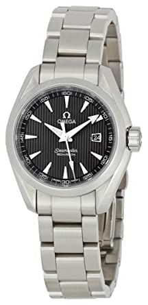 Image Unavailable. Image not available for. Color  Omega Women s  231.10.30.61.06.001 Seamaster Aqua Terra Quartz Grey Dial Watch 702c89fced