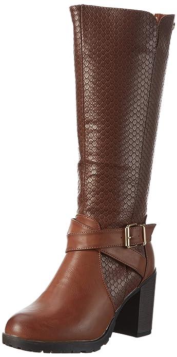 46218, Zapatillas de Estar por Casa para Mujer, Amarillo (Camel), 39 EU Xti