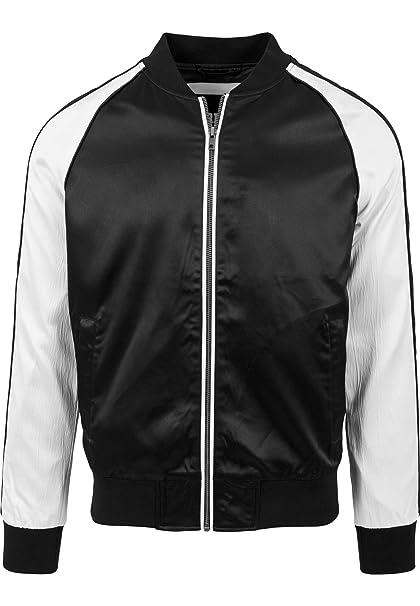 Urban Classics Souvenir Jacket, Chaqueta para Hombre, (Black/offwhite 851),