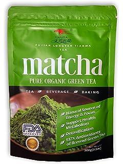 Té Verde Matcha 100% Orgánico 100 gramos[Calidad Premium] 100 g En Polvo