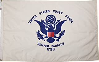 product image for Valley Forge Flag Made in America 3' x 5' Nylon United States Coast Guard Flag