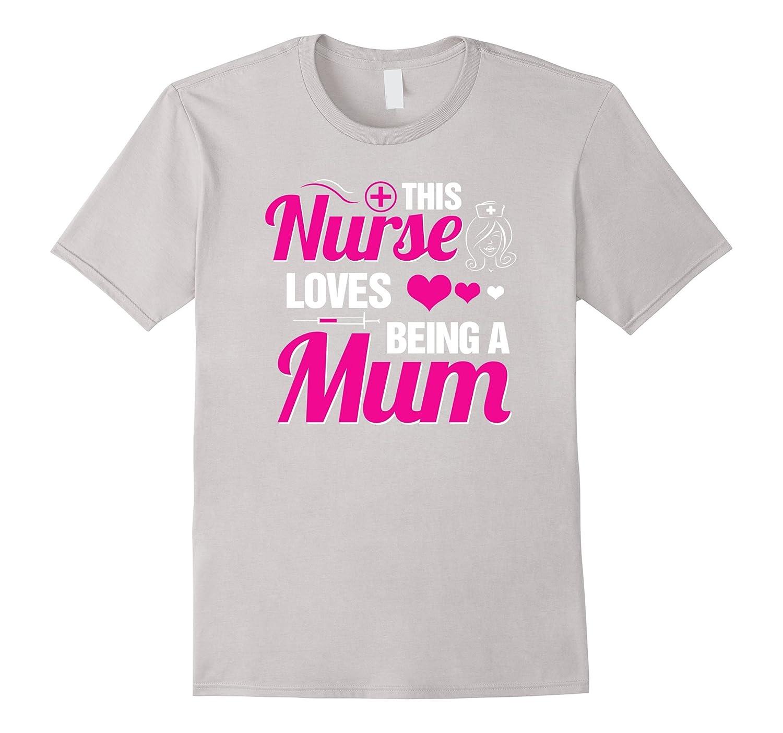 Awesome Nurse Mum Tshirt-TH