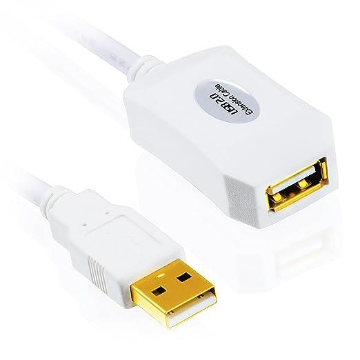 148 opinioni per CSL- 5m (metri) USB 2.0 cavo Repeater/prolunga (Extention Cable) attivo con