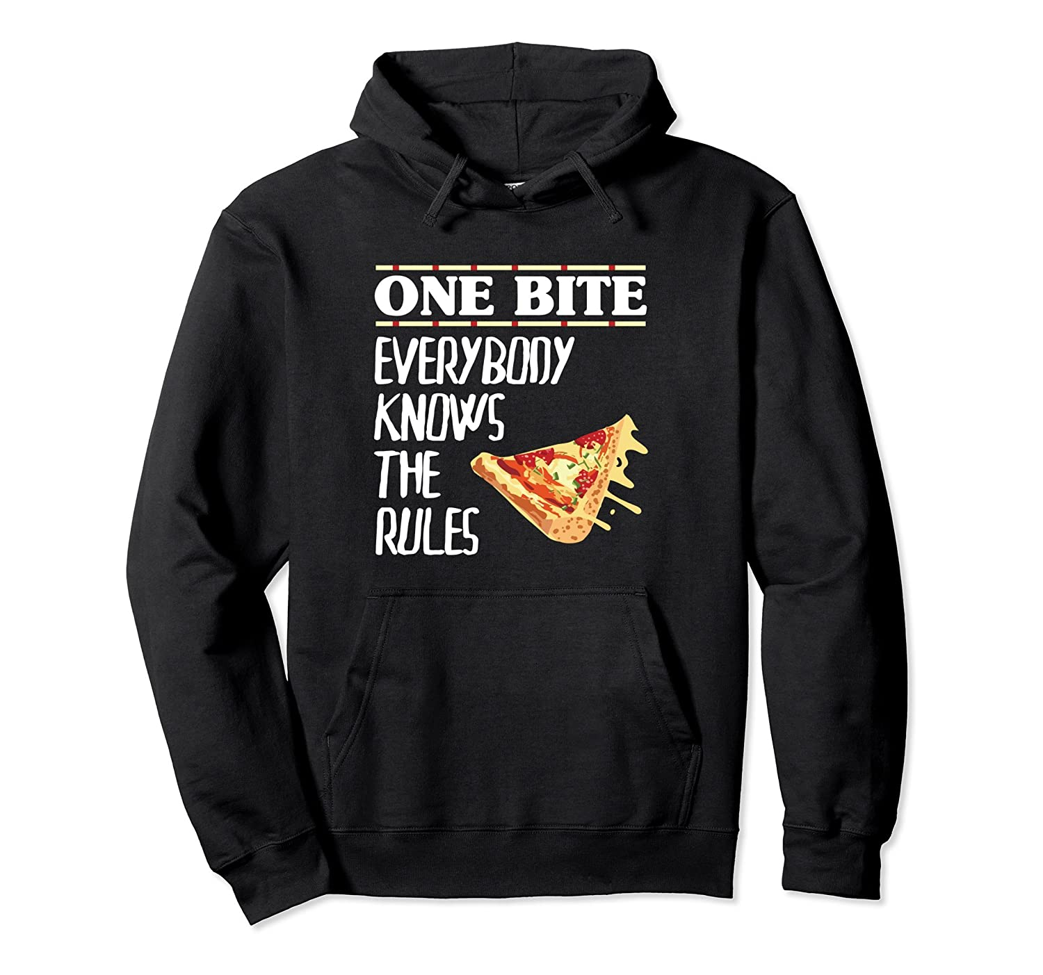 One Bite Everybody Knows The Rules Hoodie-Bawle