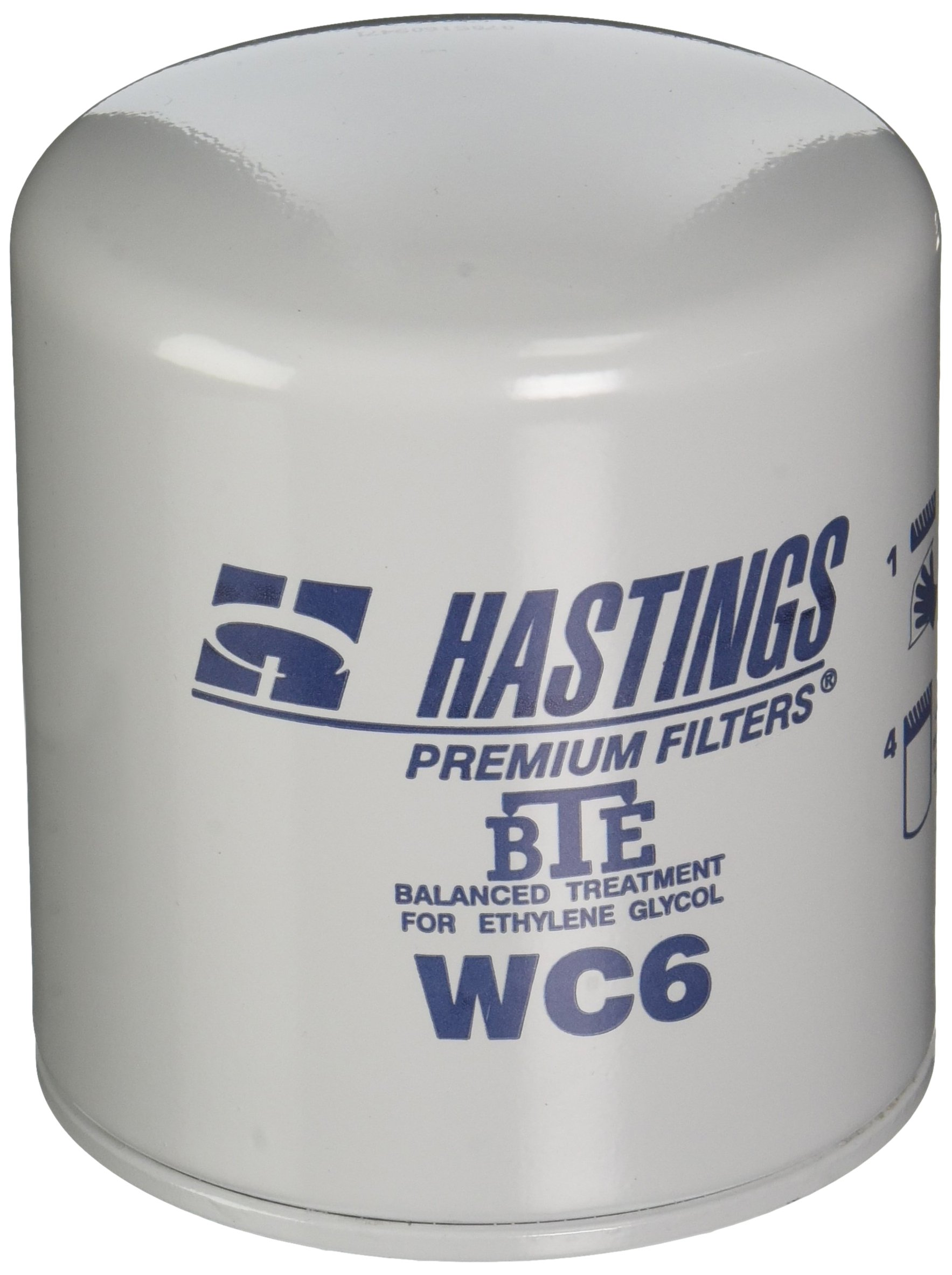 Hastings WC6 Coolant Spin-On Filter Filter with BTE Formula
