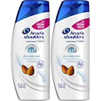 2-Pack Head and Shoulders 2 in 1 Anti Dandruff Shampoo and Conditioner, 23.7 Fl Oz