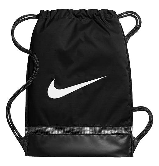 Nike Nk Brsla Gmsk Bolsa de Cuerdas, Hombre, Negro Black/White, Talla Única: Amazon.es: Deportes y aire libre
