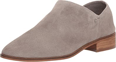 Sam Edelman Women's Pacey Putty Cow Suede Leather Shoe