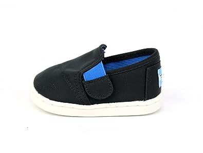 89a11f3eb83 TOMS Kids Unisex Avalon Sneaker (Infant Toddler Little Kid) Black Nylon 3