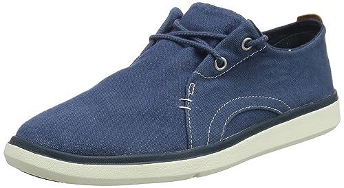 Gateway Pier Sensorflex, Zapatos de Cordones Oxford para Hombre, Verde (Duck Green Canvas J02), 43 EU Timberland