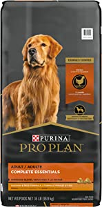 Purina Pro Plan Shredded Blend Chicken and Rice High Protein Dog Food Formula - 35 lb. Bag